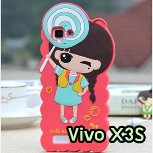 M1257-04 เคสตัวการ์ตูน Vivo X3S ลายเด็ก A
