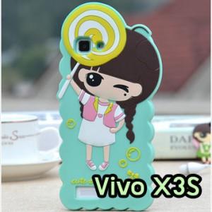 M1257-06 เคสตัวการ์ตูน Vivo X3S ลายเด็ก C