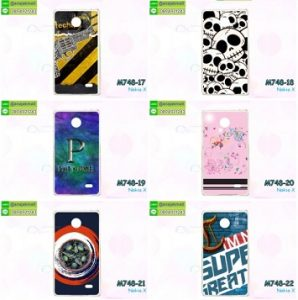 M748-L04 เคสแข็ง Nokia X ลายแฟนซี