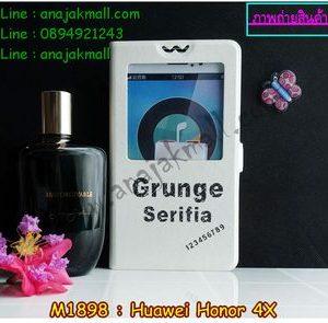 M1898-06 เคสโชว์เบอร์ Huawei Honor 4X ลาย Serifia