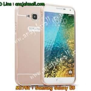 M1752-01 เคสอลูมิเนียม Samsung Galaxy E5 สีทอง B