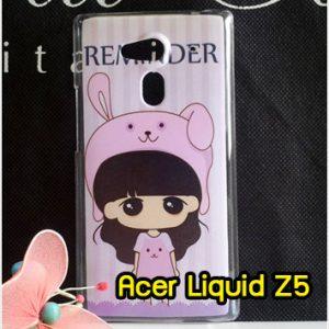 M761-08 เคสแข็ง Acer Liquid Z5 ลายสาวกระต่าย