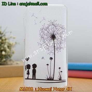M1808-07 เคสยาง Huawei Honor 4X ลาย Baby Love