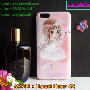 M2064-03 เคสยาง Huawei Honor 4X ลายริมิโกะ