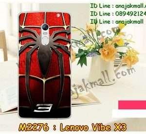 M2276-10 เคสแข็ง Lenovo Vibe X3 ลาย Spider