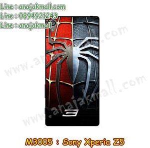 M3005-04 เคสแข็ง Sony Xperia Z5 ลาย Spider IV