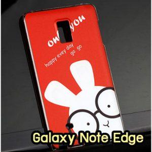 M1297-25 เคสแข็ง Samsung Galaxy Note Edge ลาย Red Rabbit