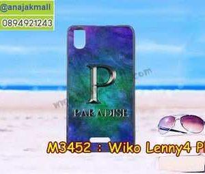M3452-28 เคสยาง Wiko Lenny4 Plus ลาย Paradise