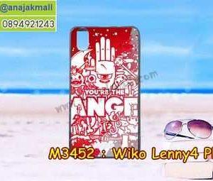 M3452-29 เคสยาง Wiko Lenny4 Plus ลาย Angel