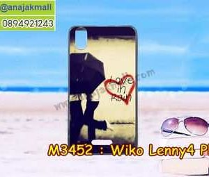 M3452-31 เคสยาง Wiko Lenny4 Plus ลาย Love in Rain