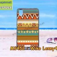 M3452-34 เคสยาง Wiko Lenny4 Plus ลาย Graphic II