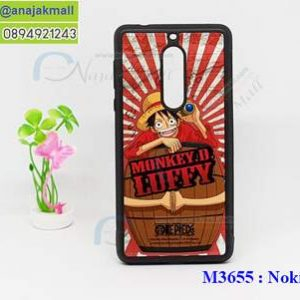 M3655-01 เคสขอบยาง Nokia 6 ลาย OnePiece 25
