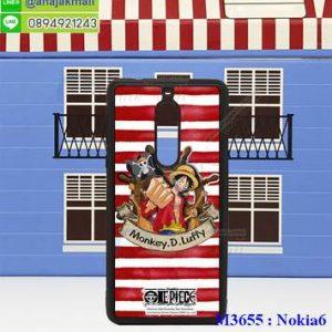 M3655-04 เคสขอบยาง Nokia 6 ลาย OnePiece 29