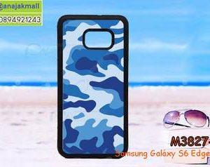 M3827-01 เคสขอบยาง Samsung Galaxy S6 Edge Plus ลาย พรางทหาร III