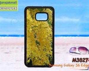 M3827-10 เคสขอบยาง Samsung Galaxy S6 Edge Plus ลาย Flower-05