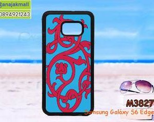 M3827-11 เคสขอบยาง Samsung Galaxy S6 Edge Plus ลาย DesignS