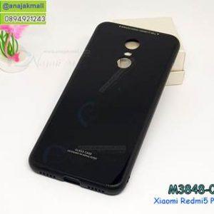 M3848-02 เคสกันกระแทกอะคริลิคพรีเมี่ยม Xiaomi Redmi 5 Plus สีดำ