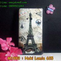 M1983-03 เคสยางพิมพ์ลาย Nokia Lumia 625 ลายหอไอเฟล I
