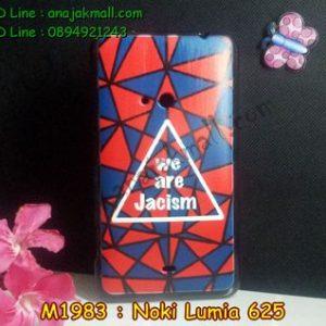 M1983-04 เคสยางพิมพ์ลาย Nokia Lumia 625 ลาย Jacism