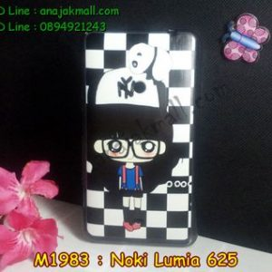 M1983-06 เคสยางพิมพ์ลาย Nokia Lumia 625 ลายแพนดาโรล