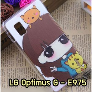 M1007-16 เคสแข็ง LG Optimus G - E975 ลายเนโกะจัง
