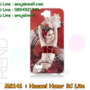 M2141-08 เคสแข็ง Huawei Honor 3C Lite ลาย Lomia