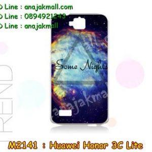 M2141-16 เคสแข็ง Huawei Honor 3C Lite ลาย Some Nights