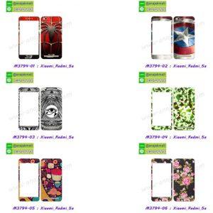 M3794-L01 ฟิล์มกระจกลายการ์ตูน Xiaomi Redmi 5a พร้อมเคสแข็งลายการ์ตูน