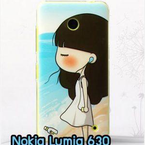M827-06 เคสแข็ง Nokia Lumia 630 ลาย YoKo