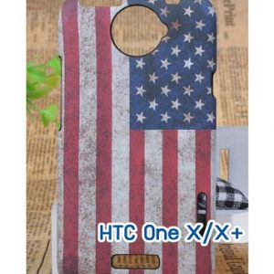 M417-03 เคสแข็ง HTC One X/X+ ลาย Flag A