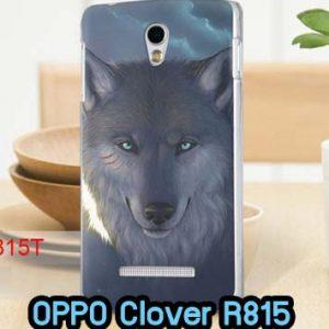 M561-04 เคสแข็ง OPPO Find Clover ลาย Wolf
