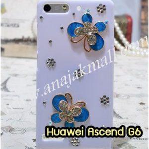 M1150-16 เคสประดับ Huawei Ascend G6 ลายผีเสื้อน้อย III