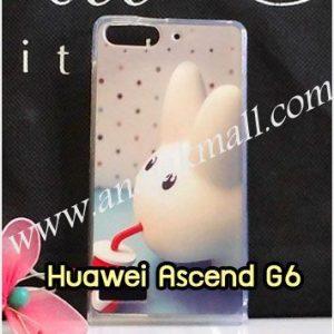 M1037-08 เคสยาง Huawei Ascend G6 ลาย Fufu