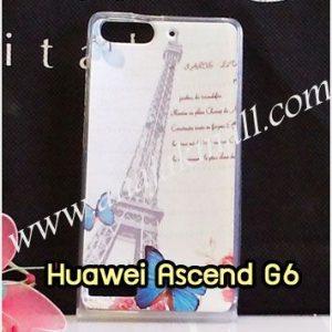 M1037-06 เคสยาง Huawei Ascend G6 ลาย Paris III