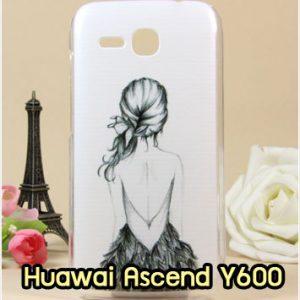 M881-01 เคสแข็ง Huawei Ascend Y600 ลาย Women