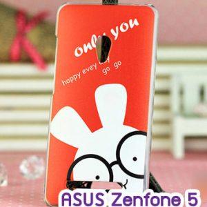 M747-11 เคสแข็ง ASUS ZenFone 5 ลาย Rabbit