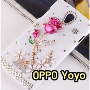 M865-08 เคสประดับ OPPO Yoyo ลาย Rose I