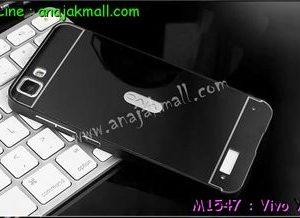 M1547-05 เคสอลูมิเนียม Vivo Y27 สีดำ B