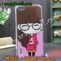 M1671-03 เคสยาง Huawei Honor 6 ลายฟินนี่