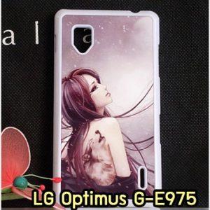 M1251-01 เคสแข็ง LG Optimus G - E975 ลาย Night Moon