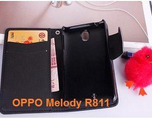 M192-01 เคสไดอารี่ OPPO Melody สีดำ
