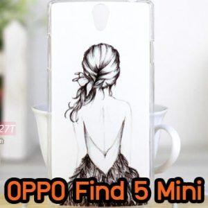 M609-16 เคสแข็ง OPPO Find 5 Mini – R827 ลาย Women