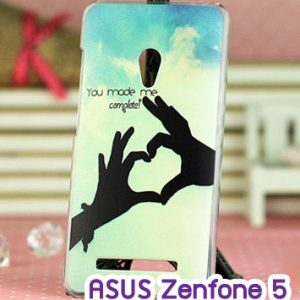 M747-03 เคสแข็ง ASUS ZenFone 5 ลาย My Heart