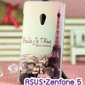 M747-04 เคสแข็ง ASUS ZenFone 5 ลายหอไอเฟล II