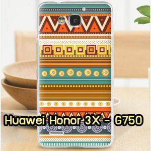 M959-34 เคสแข็ง Huawei Honor 3X ลาย Graphic II