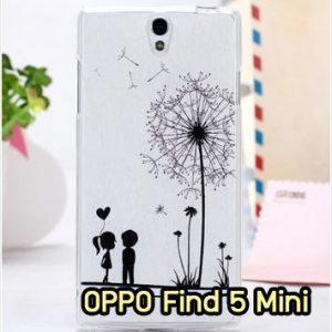 M853-07 เคสยาง OPPO Find 5 Mini ลาย Baby Love