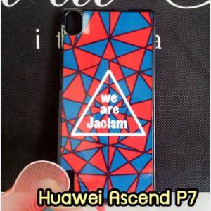 M1274-01 เคสแข็ง Huawei Ascend P7 ลาย Jacism