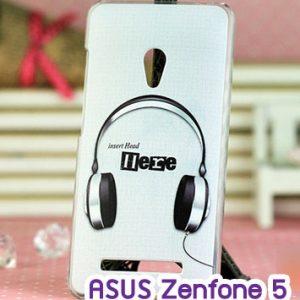 M747-08 เคสแข็ง ASUS ZenFone 5 ลาย Music