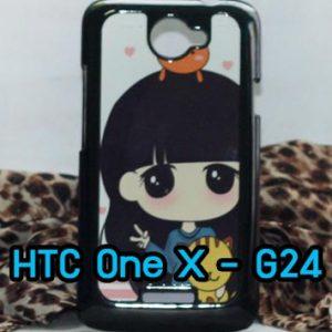 M470 เคสแข็งพิมพ์ลาย HTC One X/X+ ลายเนโกะจัง