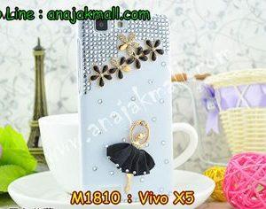 M1810-04 เคสประดับ Vivo X5 ลาย Black Ballet